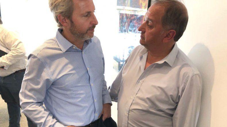 Linares calificó como importante la reunión con Frigerio