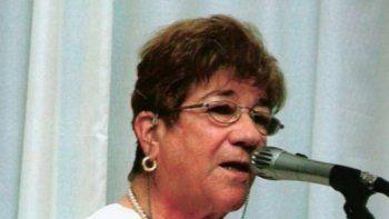 Esther Crespo de Riera condujo Piedrabuena entre 1983 y 1987.