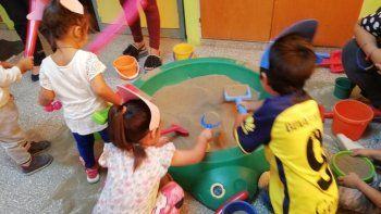 los jardines maternales de verano llegaron a su fin luego de mas de un mes de actividades