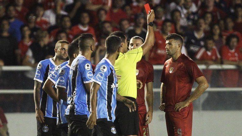 El Rojo empató con Gremio en el partido de ida de la Recopa