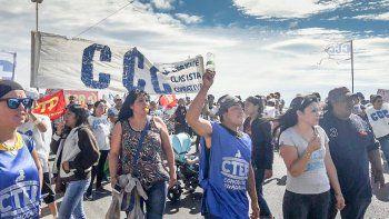 la ccc y otras organizaciones  sociales se movilizaron contra macri