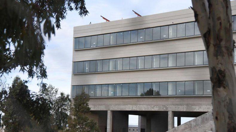 La obra de la Ciudad Judicial demandará un año de trabajo