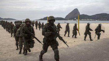 Decretaron intervención militar de Río de Janeiro