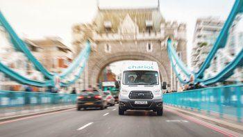 Chariot llegó a Londres