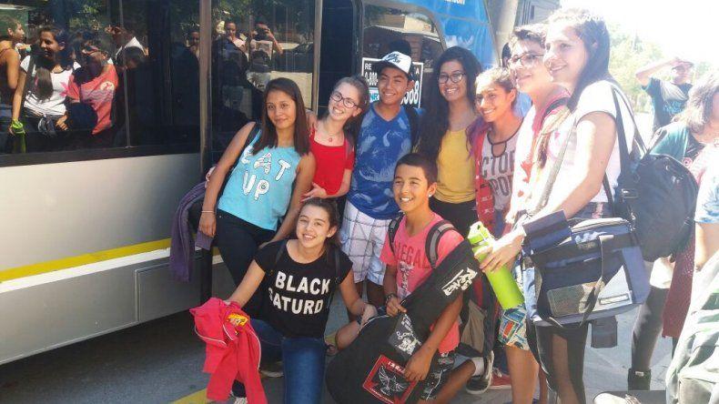 Viajaron a Mar del Plata los ganadores de los Evita Culturales de la provincia de Chubut
