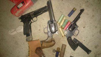 Secuestraron armas de guerra y marihuana