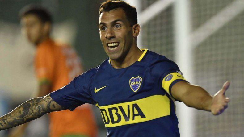 Boca venció a Banfield con un gol de Tevez