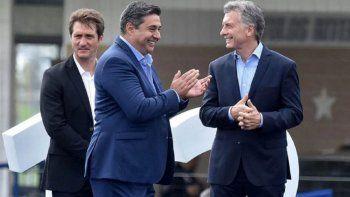 Mauricio Macri recibió a Barros Schelotto