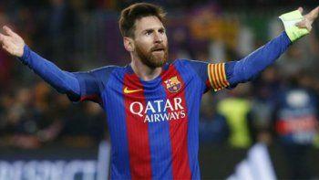 Lionel Messi, el crack del Barcelona de España que esta tarde irá en busca de un buen resultado en la capital inglesa.