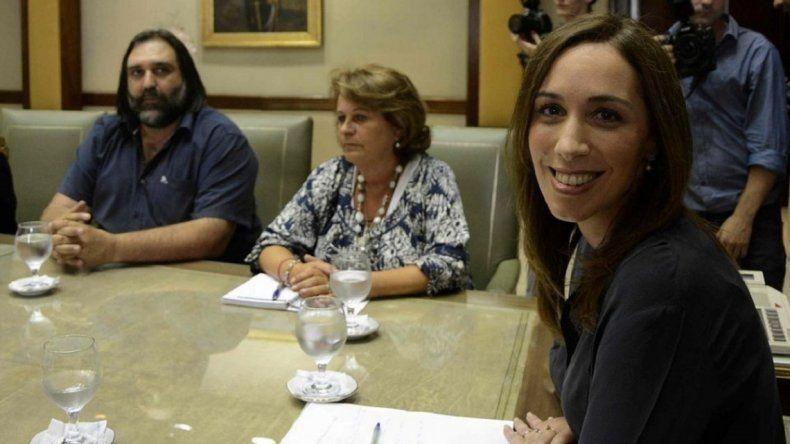 Vidal convocó a los docentes bonaerenses a una nueva reunión