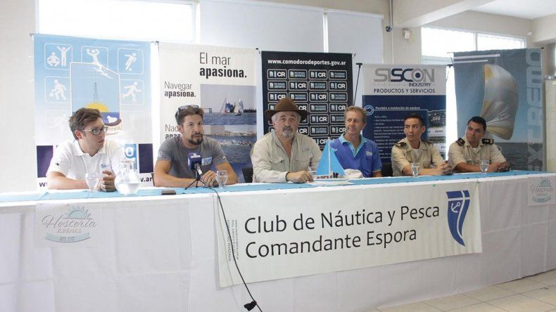 El anuncio de estas dos competencias se realizó el último lunes en instalaciones del Club Náutico Comandante Espora.