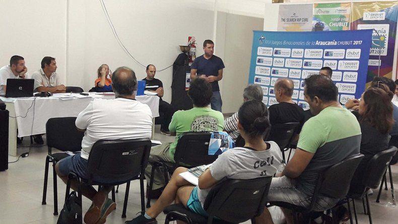 A la asamblea de la Federación Chubutense de Balonmano asistieron dirigentes de clubes que integran las tres Asociaciones.
