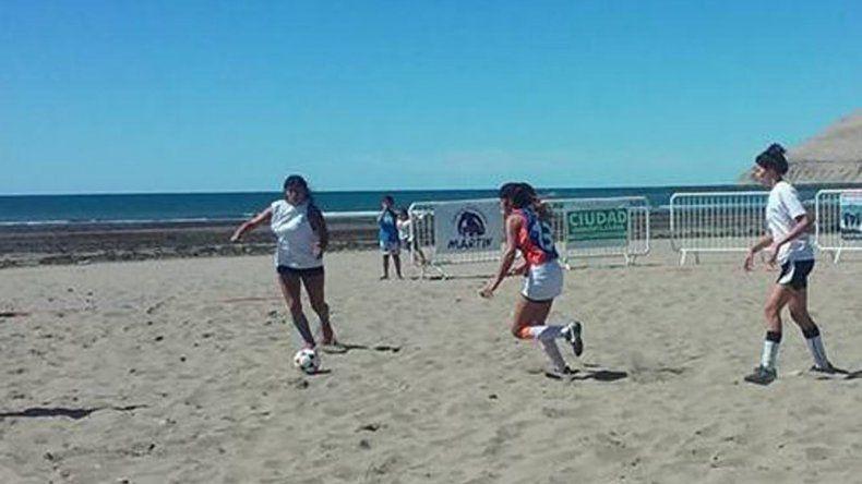 Están abiertas las inscripciones para participar del 2º torneo de  fútbol de playa