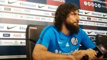 Fabricio Coloccini destacó la actualidad de San Lorenzo, pese a reconocer que el equipo no está jugando bien.