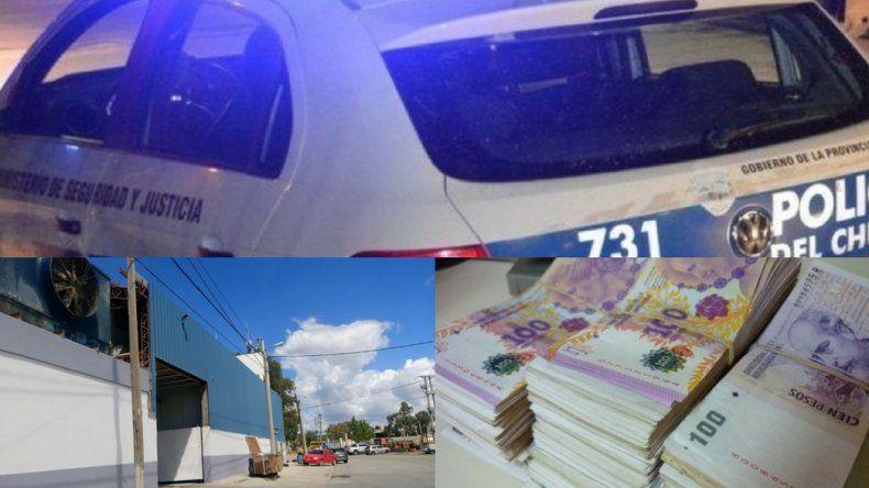 A través de un boquete delincuentes robaron 240 mil pesos en una pesquera
