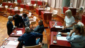 no hubo quorum para la sesion extraordinaria de la legislatura