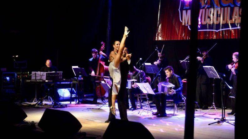Comodoro inauguró sus festejos a puro tango