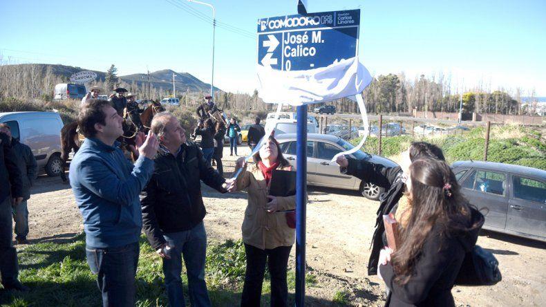 El Roque González homenajea con sus calles a sus primeros pobladores