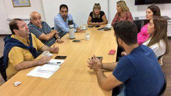 Los concejales se reunieron ayer con trabajadores del INTI.
