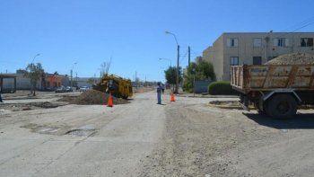 el municipio firmo un convenio  con nacion para repavimentar calles destruidas por el temporal