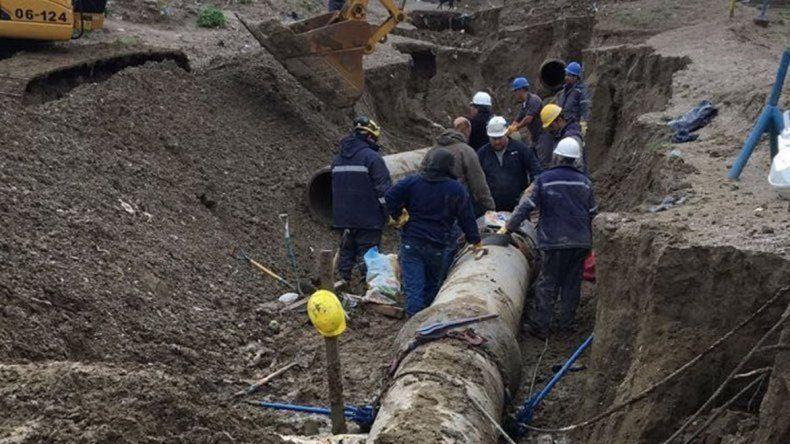 Por una rotura en Cerro Negro se cortó el suministro a Rada Tilly