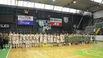 Las formativas de Gimnasia participan del torneo Aniversario de Comodoro Rivadavia.