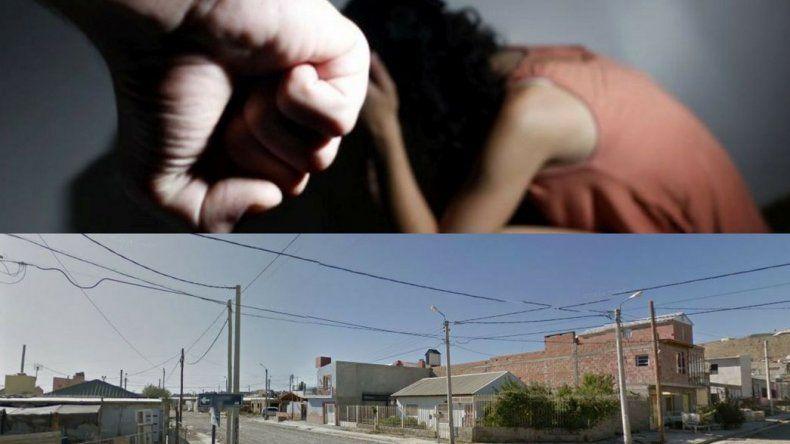 Violencia de género, armas, amenazas y persecución en el Abel Amaya