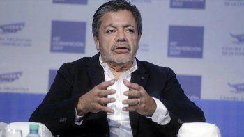 Gerardo Martínez, secretario general de la UOCRA a nivel nacional.
