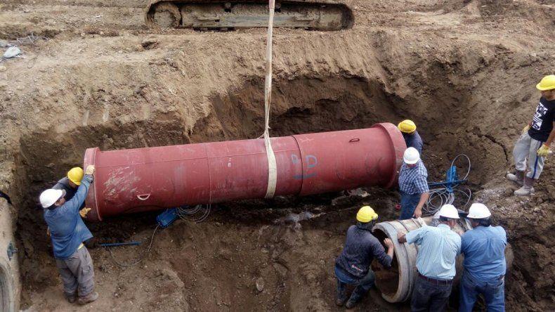 Las avería principal se detectó en 10 de Noviembre y Polonia. Demandó dos días de reparaciones.