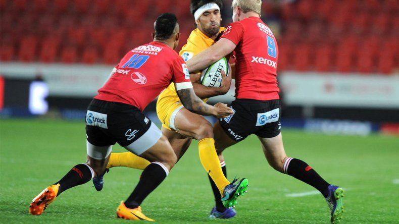 Los Jaguares tampoco pudieron ayer con los Lions sudafricanos.
