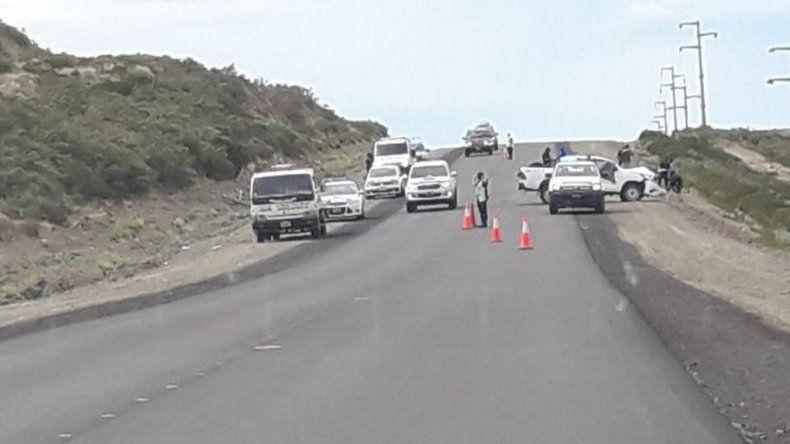 Un herido en choque frontal sobre Ruta 26