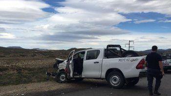 El accidente que se produjo ayer a la mañana en la Ruta 26.