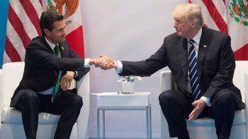 La relación entre Enrique Peña Nieto y Donald Trump volvió a tensarse porque el presidente de Estados Unidos mantiene la idea de hacerle pagar a México el muro que construirá en la frontera.