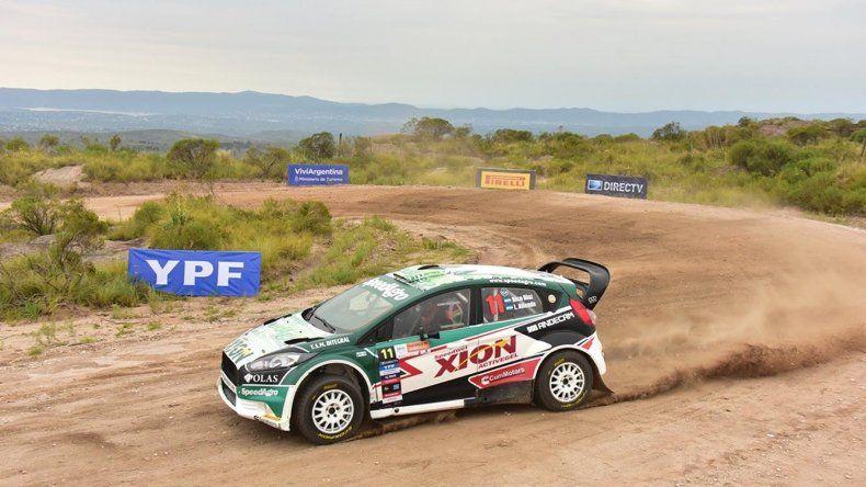 Nicolás Díaz se quedó con la primera fecha del Campeonato Argentino de Rally que se corrió en caminos cercanos a Villa Carlos Paz.