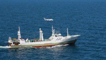 El pesquero español pagó una multa millonaria y será liberado esta semana
