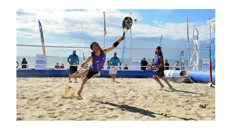 Rada Tilly tendrá su primer  torneo de beach tennis