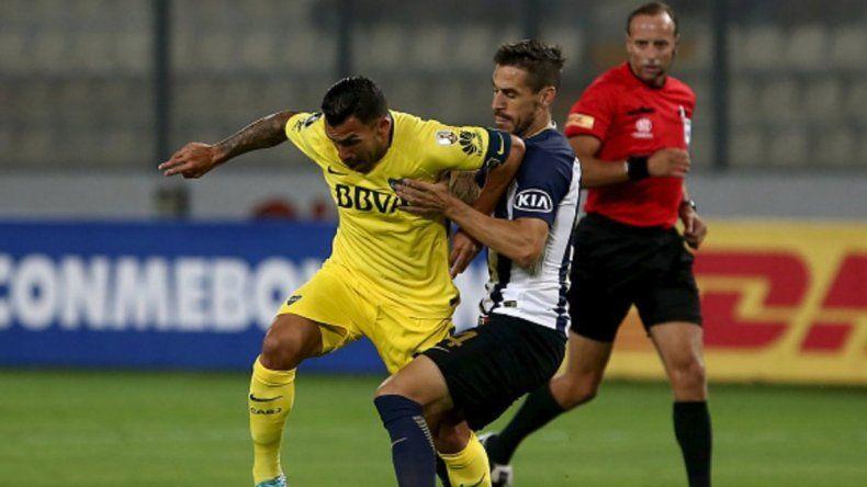 Boca empató con Alianza Lima en el comienzo de la Copa Libertadores