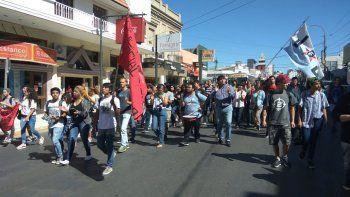 Comodoro se sumó a la movilización provincial en defensa del TEG