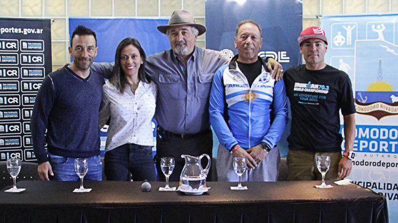 Realizaron la presentación de la 1ª fecha del Abierto Argentino de Ciclismo de Montaña