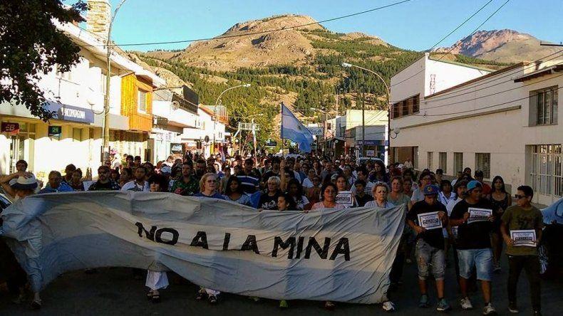 El 4 de marzo nueve localidades de Chubut se movilizarán contra la minería