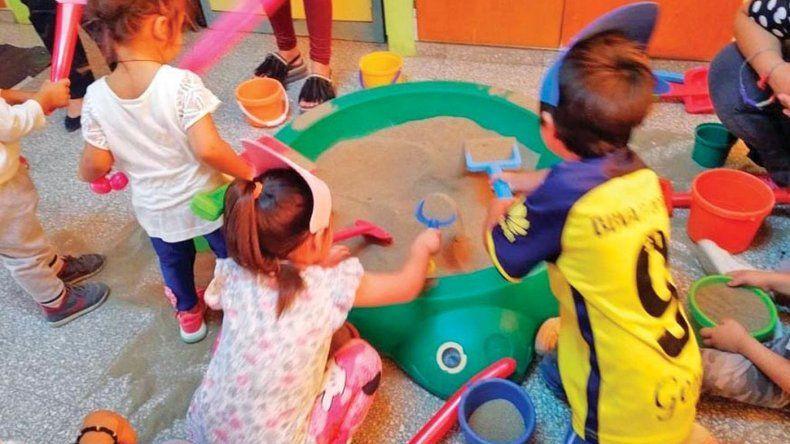 Comienzan las actividades en los Jardines Maternales