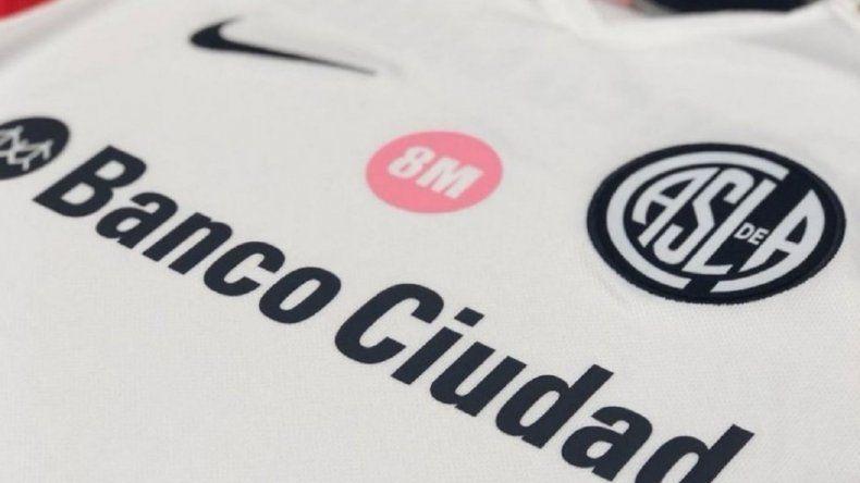 Con esta camiseta, San Lorenzo homenajeará a las mujeres