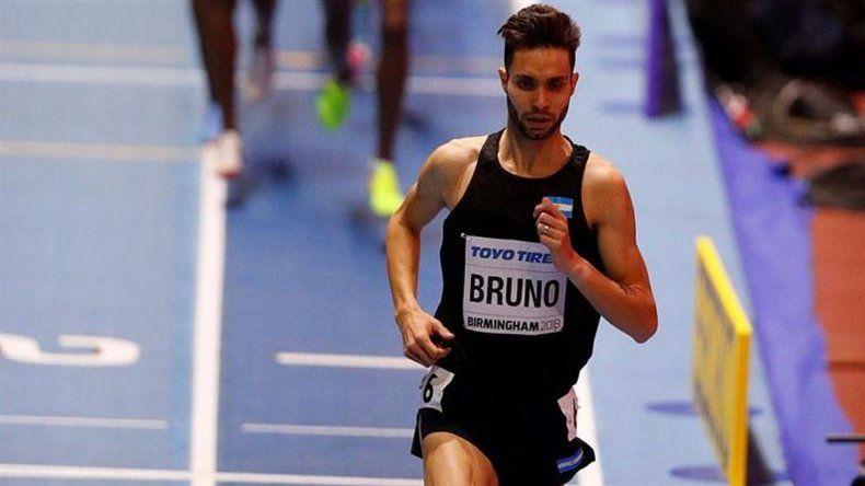 Bruno quedó a un paso de la final en los 3000m