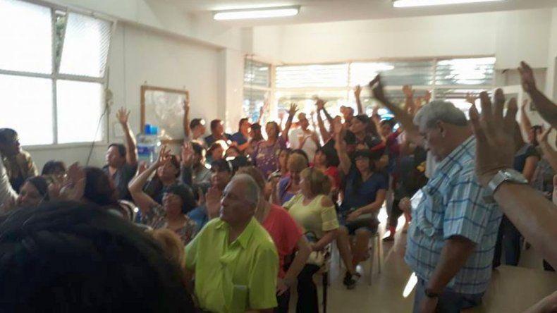 Auxiliares de la educación se suman al paro nacional convocado por CTERA