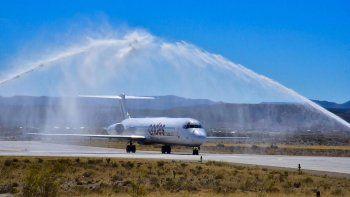 Andes ya vuela a Comodoro. De lunes a viernes a las 14 se podrá viajar a Buenos Aires por 2.800 pesos.