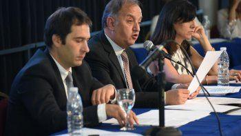 En su discurso, el intendente renovó cuestionamientos al gobierno de Macri por su falta de apoyo, aunque rescató al ministro Frigerio.