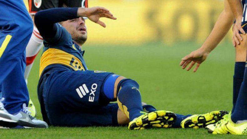 Preocupación en Boca por la rodilla de Gago a días del Superclásico