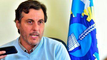 Adrián Awstin, secretario de Pesca de Chubut. Dijo que lo incautado será vendido o donado a instituciones benéficas.