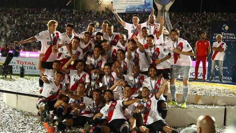 River es el bicampeón de la Copa Argentina.