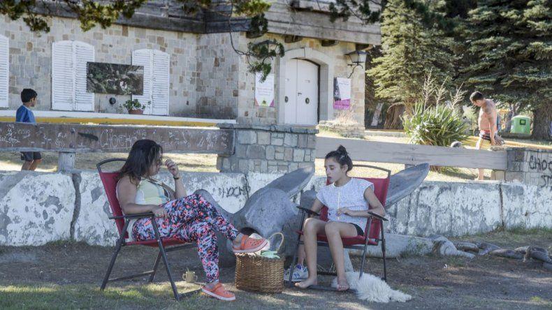 El Chalet Huergo,uno de los lugares elegidos para disfrutar días de calor